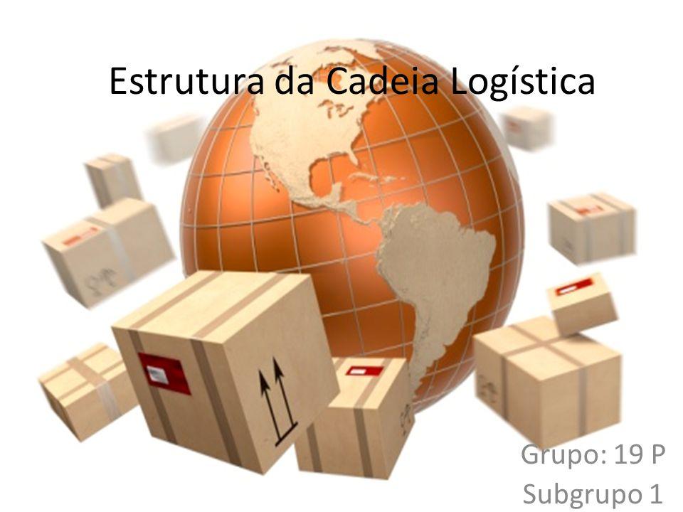 Estrutura da Cadeia Logística Grupo: 19 P Subgrupo 1