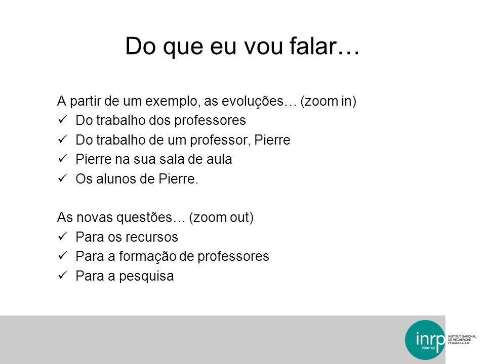 A formação de professores Pairform@nce http://pairformance.education.fr/http://pairformance.education.fr/ Um exemplo de percurso de formação « en uso » (S.