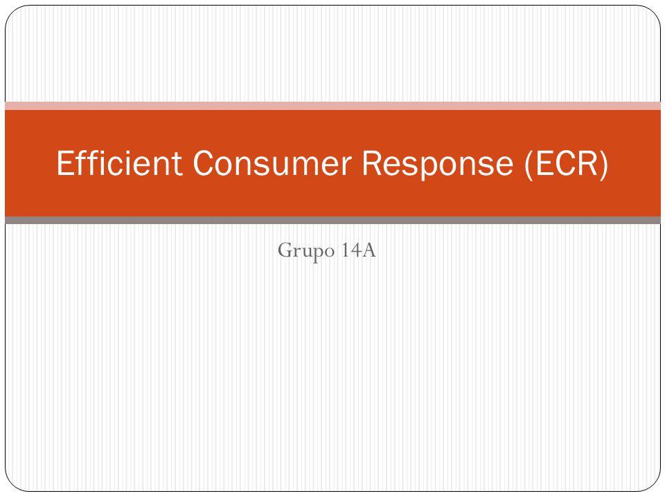 Sobre o ECR ECR é uma iniciativa em que fabricantes, varejo, atacado e demais facilitadores trabalham em conjunto para reduzir custos e trazer maior vantagem ao consumidor.