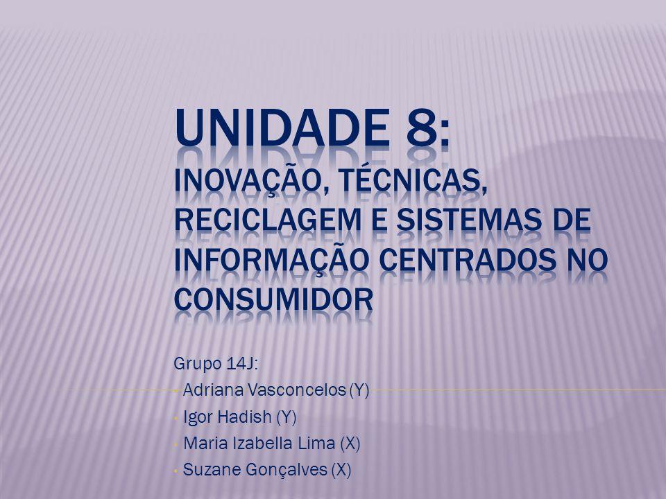Grupo 14J: Adriana Vasconcelos (Y) Igor Hadish (Y) Maria Izabella Lima (X) Suzane Gonçalves (X)