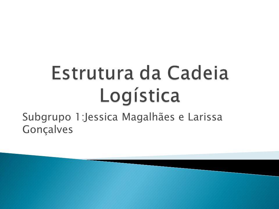 A cadeia logística é formada por três grandes blocos são eles: Logística de Suprimentos: relação fornecedor- empresa O produto fica disponível no momento exato para ser utilizado no sistema logístico.