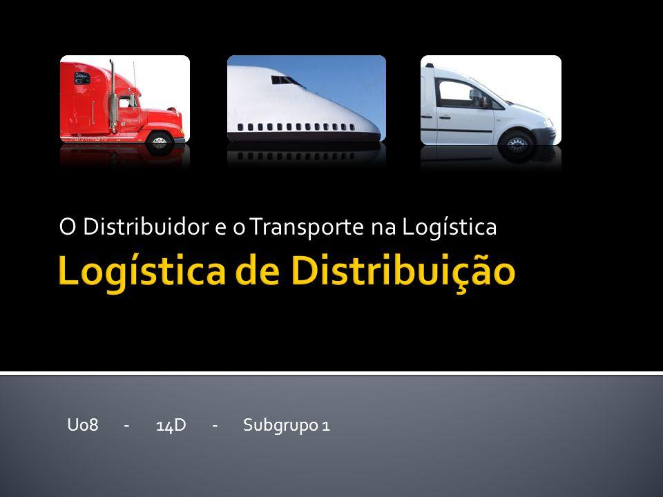 O Distribuidor e o Transporte na Logística U08 - 14D - Subgrupo 1
