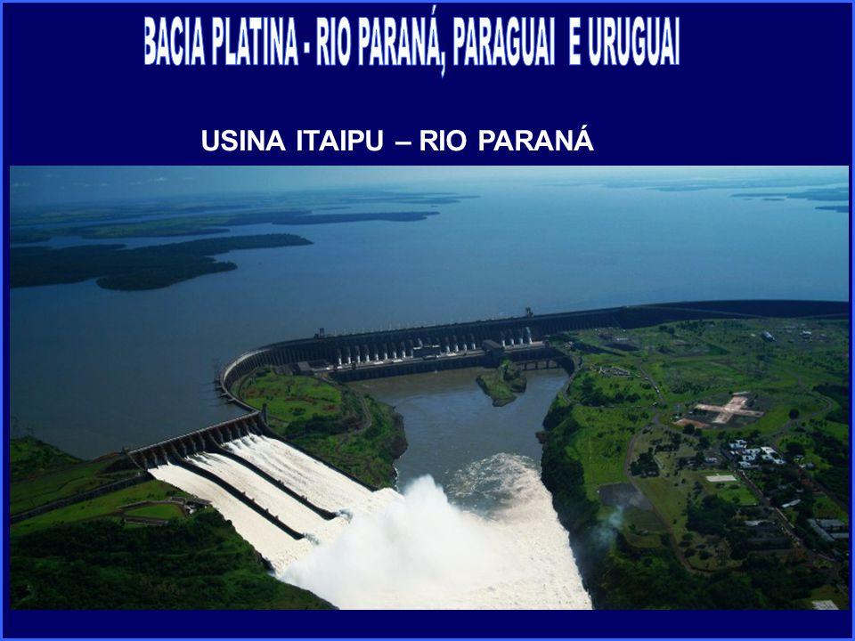 USINA ITAIPU – RIO PARANÁ