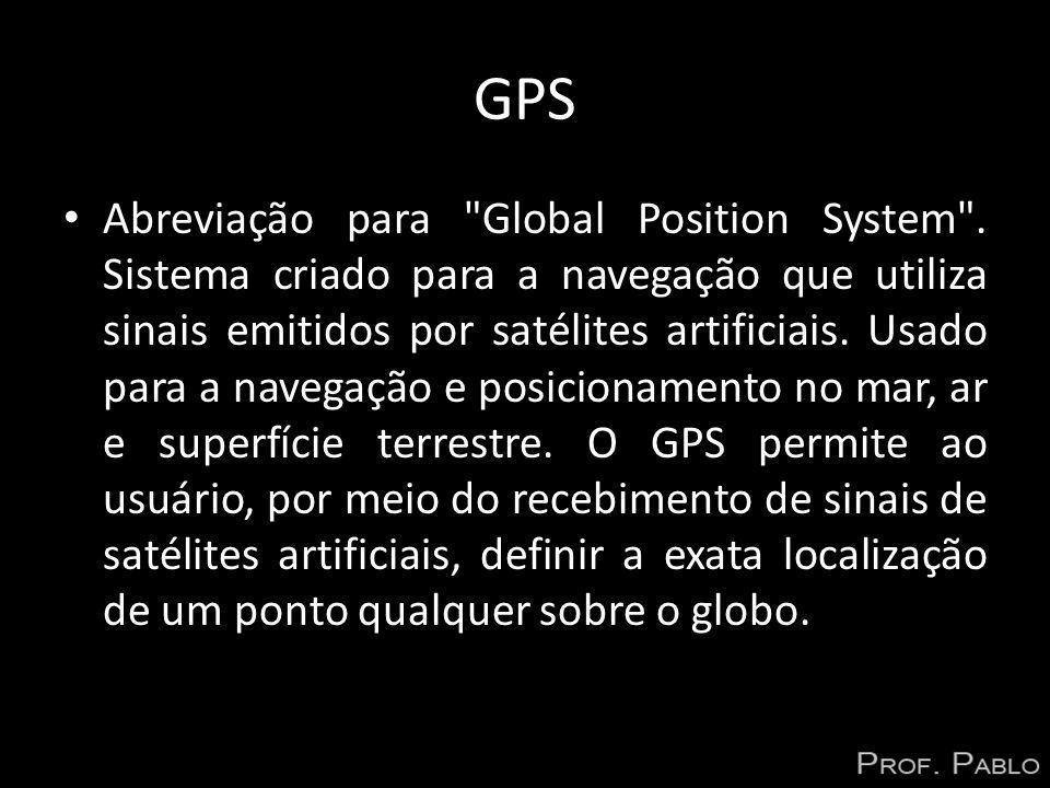 GPS Abreviação para