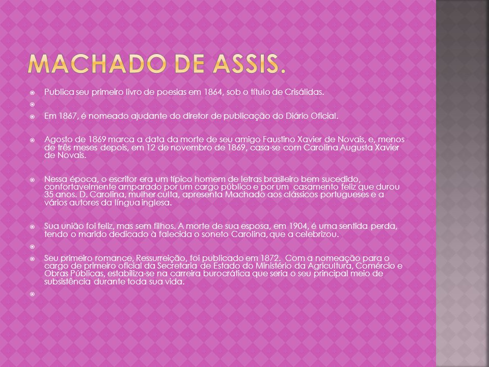 O conto Entre Santos, de Machado de Assis, trata-se de uma narrativa dentro de outra narrativa, que em determinado momento do caminho para mais outra.