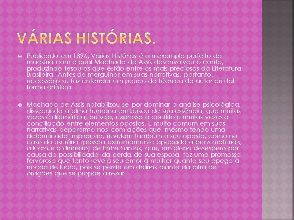 O presente escrito tem como propósito analisar criticamente o conto Uns braços, de Machado de Assis, buscando identificar nesse microcosmo da narrativa machadiana elementos que evidenciem uma perspectiva Realista.
