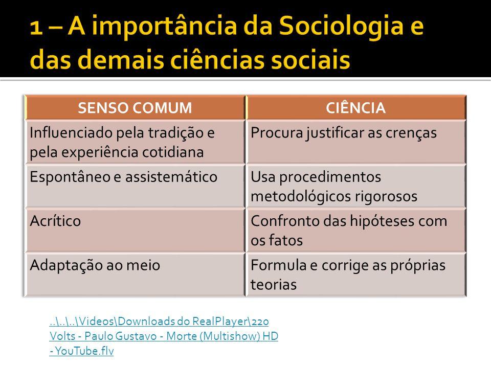 A Sociologia estuda, dentro das organizações as seguintes relações: Poder Liderança Resistências a mudanças Conformidade às normas Surgimento de grupos informais