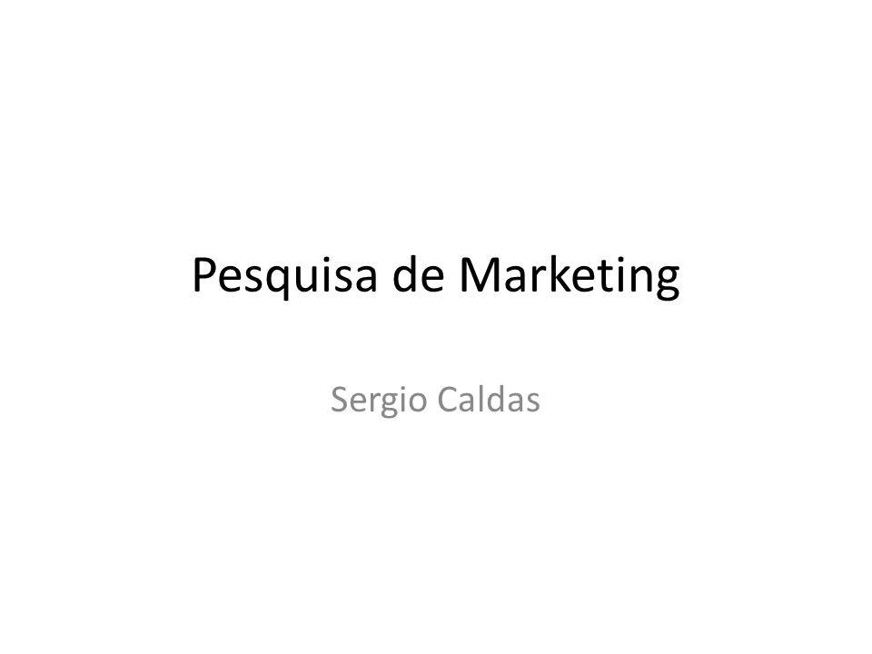 Objetivos de Aprendizagem Compreender a necessidade e a utilização da pesquisa de marketing dentro das organizações.