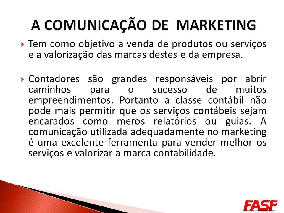 DEFINIR O PÚBLICO ALVO O desenvolvimento da comunicação no marketing deve-se iniciar com a consciência de um público alvo bem definido.