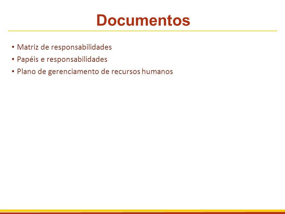 Elementos da matriz de responsabilidades Elemento do documento Descrição Pacote de trabalho Nome do pacote de trabalho ao qual você atribui recursos.