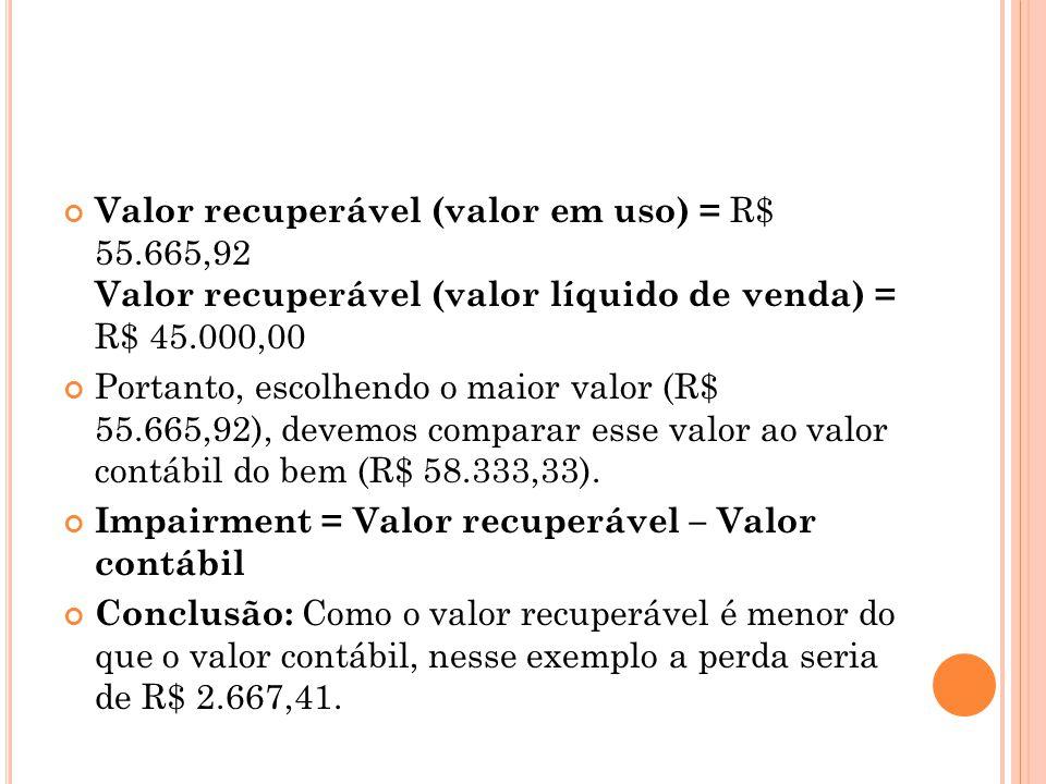Aspectos Fiscais: Fiscalmente, por determinação da Lei 11.941/2009 (art.