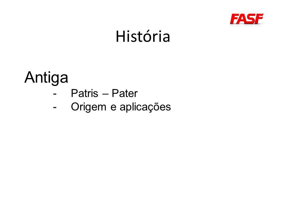 História Antiga -Patris – Pater -Origem e aplicações
