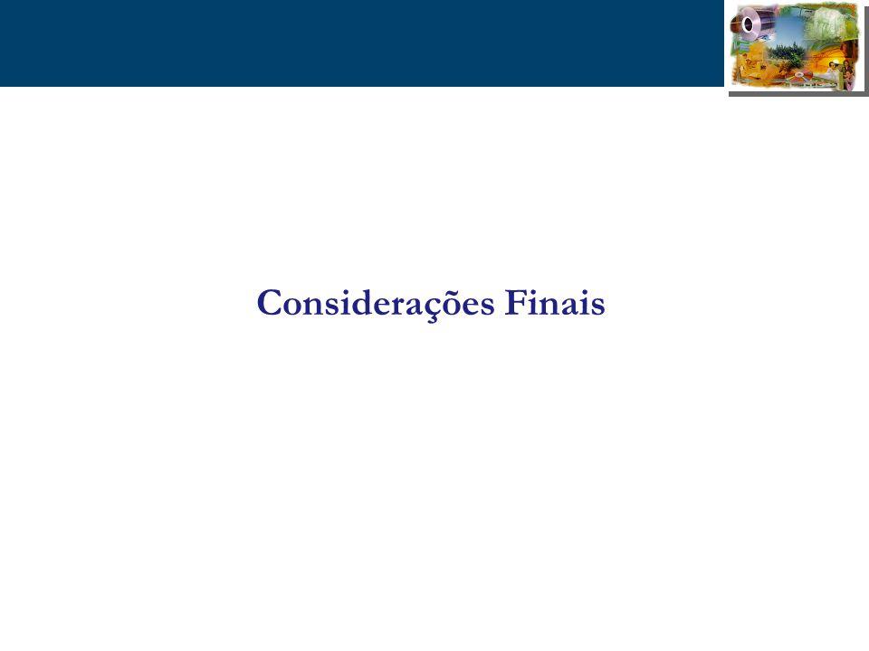 33 Considerações Finais