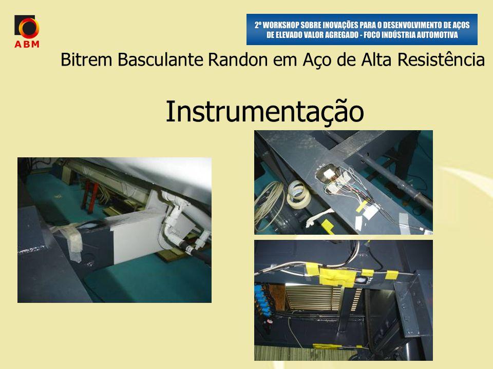 Instrumentação Bitrem Basculante Randon em Aço de Alta Resistência