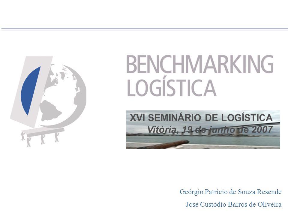 BENCHMARKING Histórico da formação do Grupo de de Logística BENCHMARKING Histórico da formação do Grupo de Benchmarking de Logística Fevereiro/2005 - É definido o modelo de auto-gestão patrocinado pelas empresas participantes, desvinculando o Grupo de Benchmarking de Logística da Gestão Coorporativa da Arcelor Mittal Tubarão.