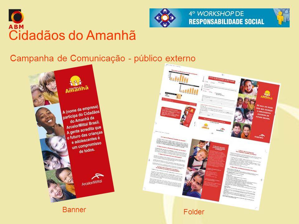 Cidadãos do Amanhã Campanha de Comunicação - público externo Banner Folder
