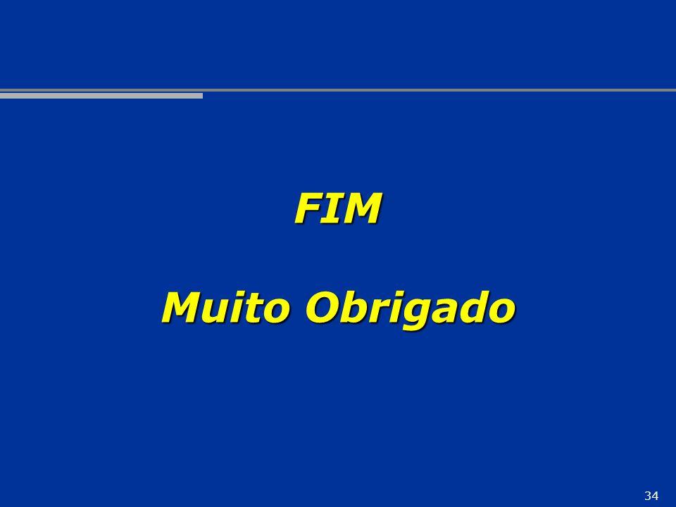 34 FIM Muito Obrigado