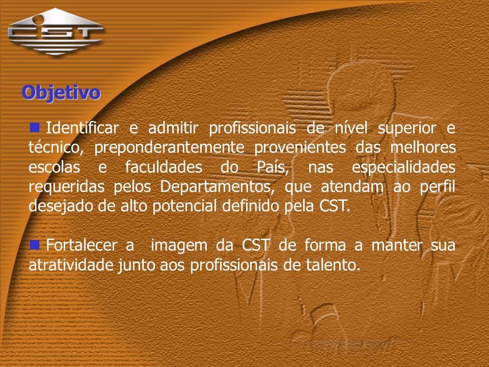 Programa Trainee na CST Nível Superior Nível Técnico