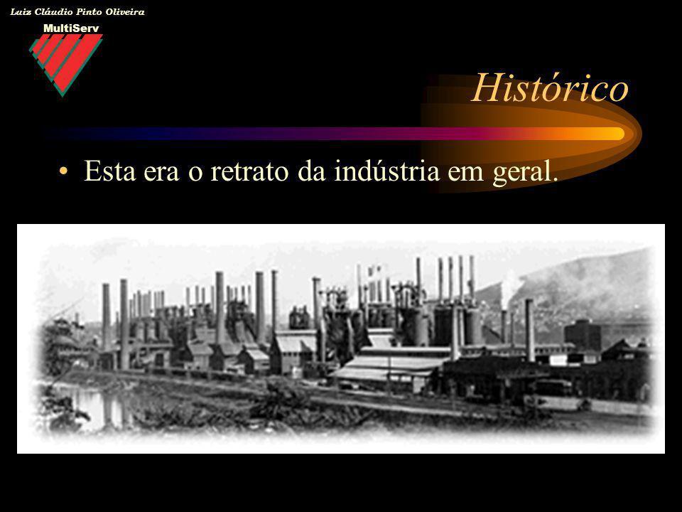 MultiServ Luiz Cláudio Pinto Oliveira Mudança de Paradigma Principais vetores da mudança: –A percepção de que o meio ambiente não teria uma capacidade inesgotável de absorver as contribuições do setor industrial na forma de rejeitos ou energia.