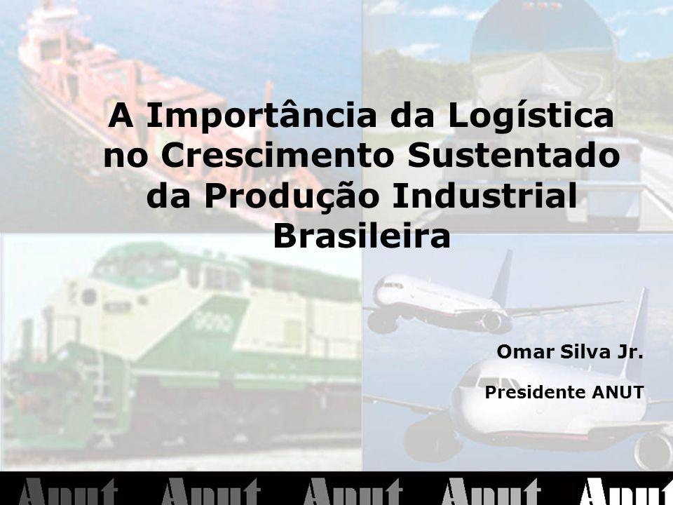 A Importância da Logística no Crescimento Sustentado da Produção Industrial Brasileira Omar Silva Jr.
