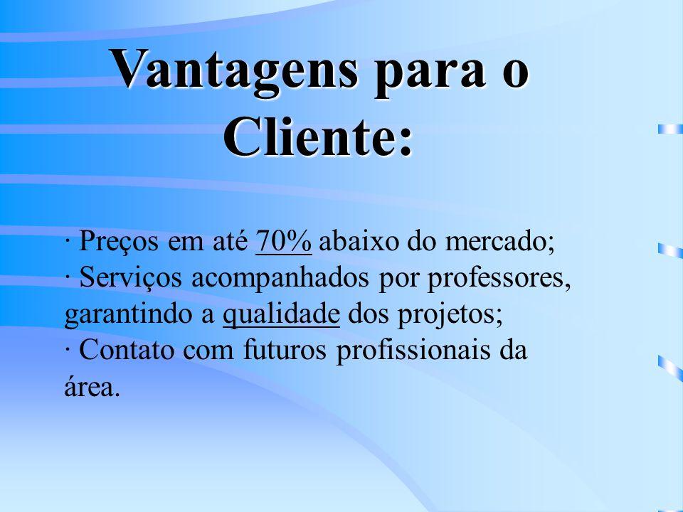 As empresas juniores também prestam serviços para organizações do terceiro setor.