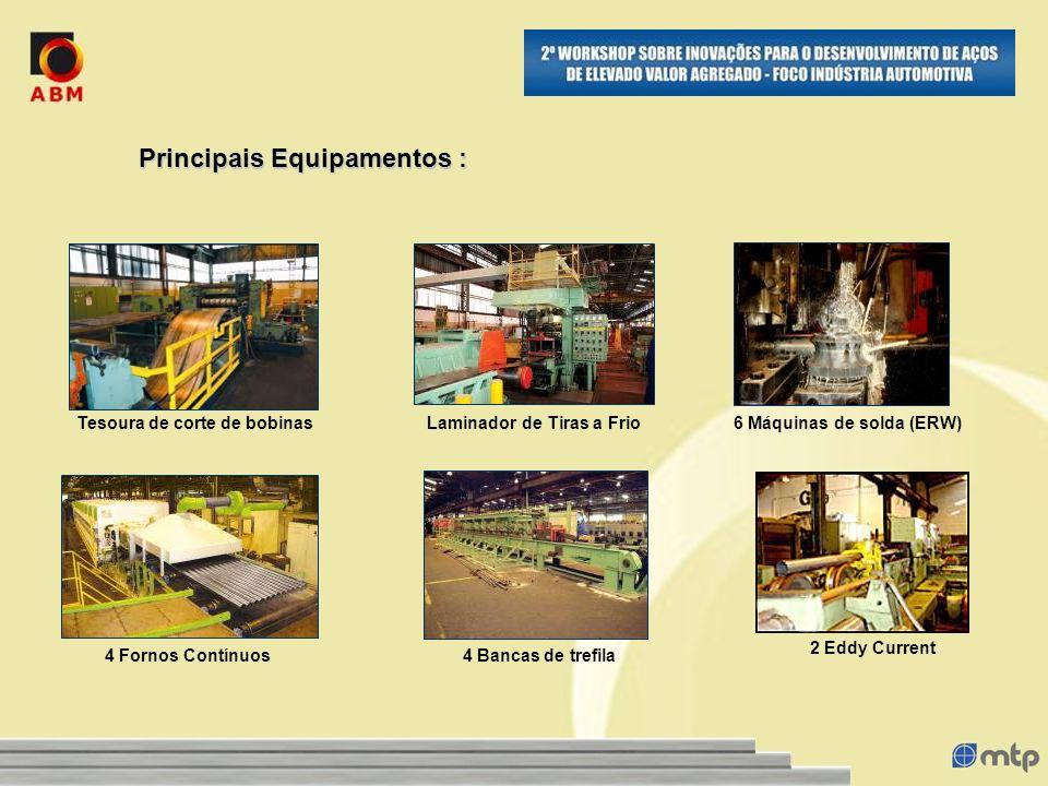 Peças TubularesCapacidade Instalada Anual Peças 70.000.000 peças Área Total:11.168 m² Área Construída: 7.375 m² Filial: Guarulhos/SP