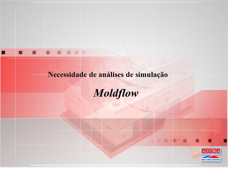 Necessidade de análises de simulação Moldflow