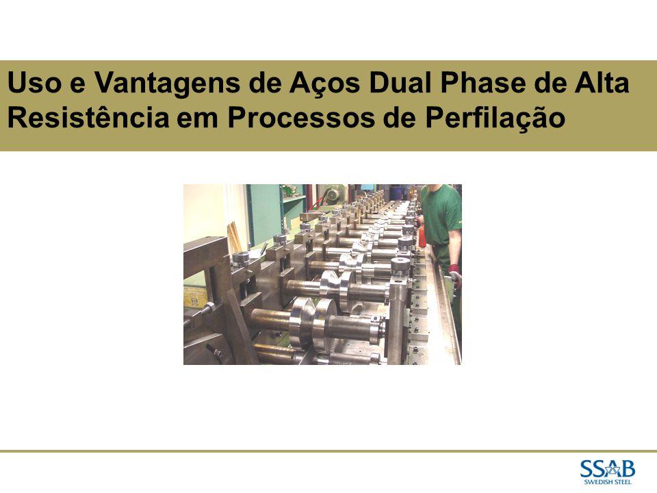 Uso e Vantagens de Aços Dual Phase de Alta Resistência em Processos de Perfilação