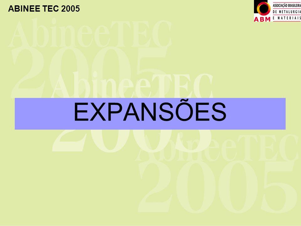 ABINEE TEC 2005 EXPANSÕES