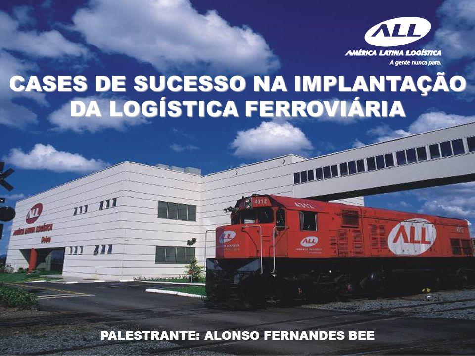 Cubatão - SP Diretor Pestana Porto Alegre/RS Acabado – 30.000 ton HISTÓRICO: Volume de 30 mil ton mês (bobinas de aço) iniciado em Abr/2009, 1.492 km