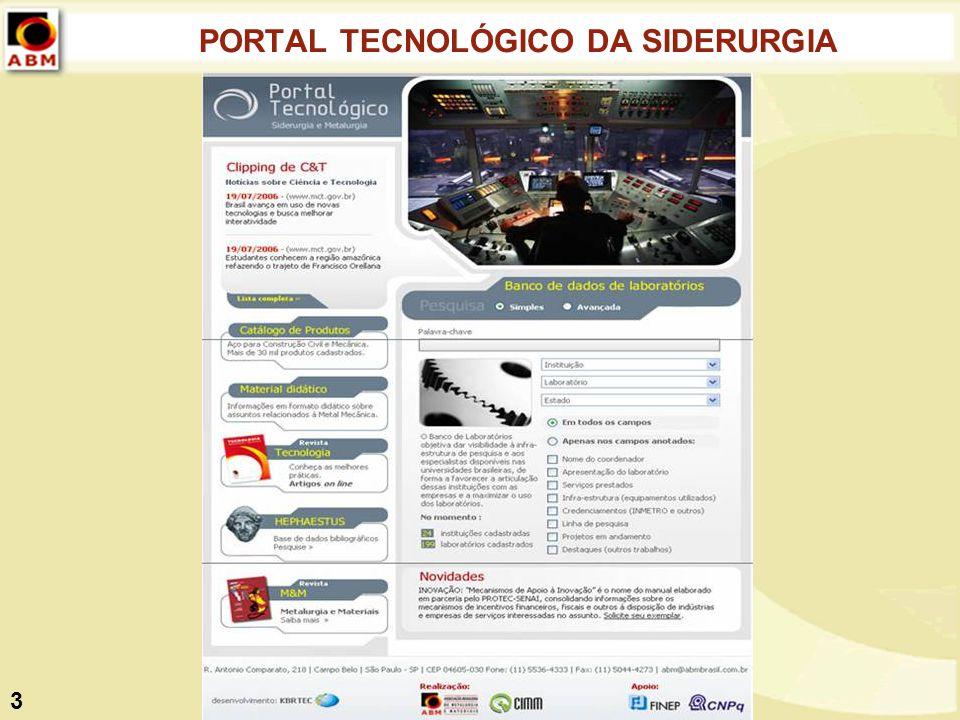 PORTAL TECNOLÓGICO DA SIDERURGIA 3