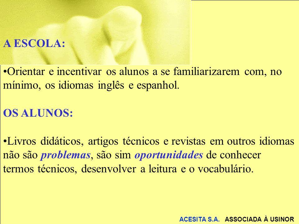 ACESITA S.A. ASSOCIADA À USINOR Obrigado a todos !