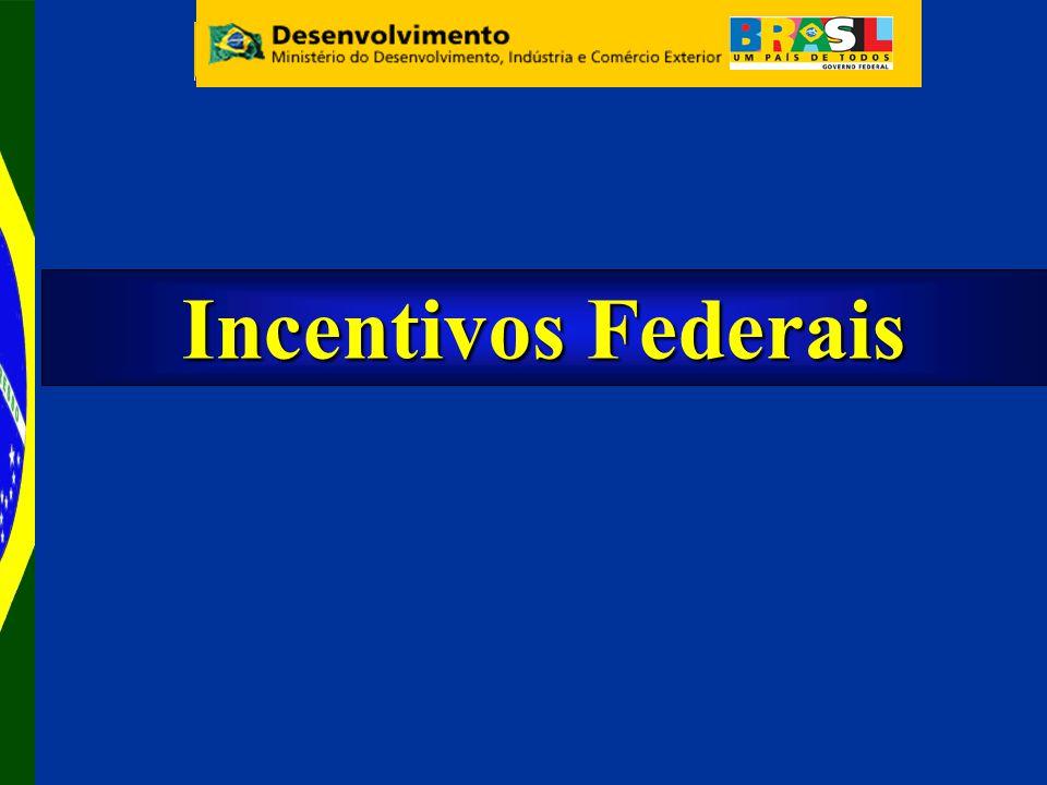 Incentivos Federais