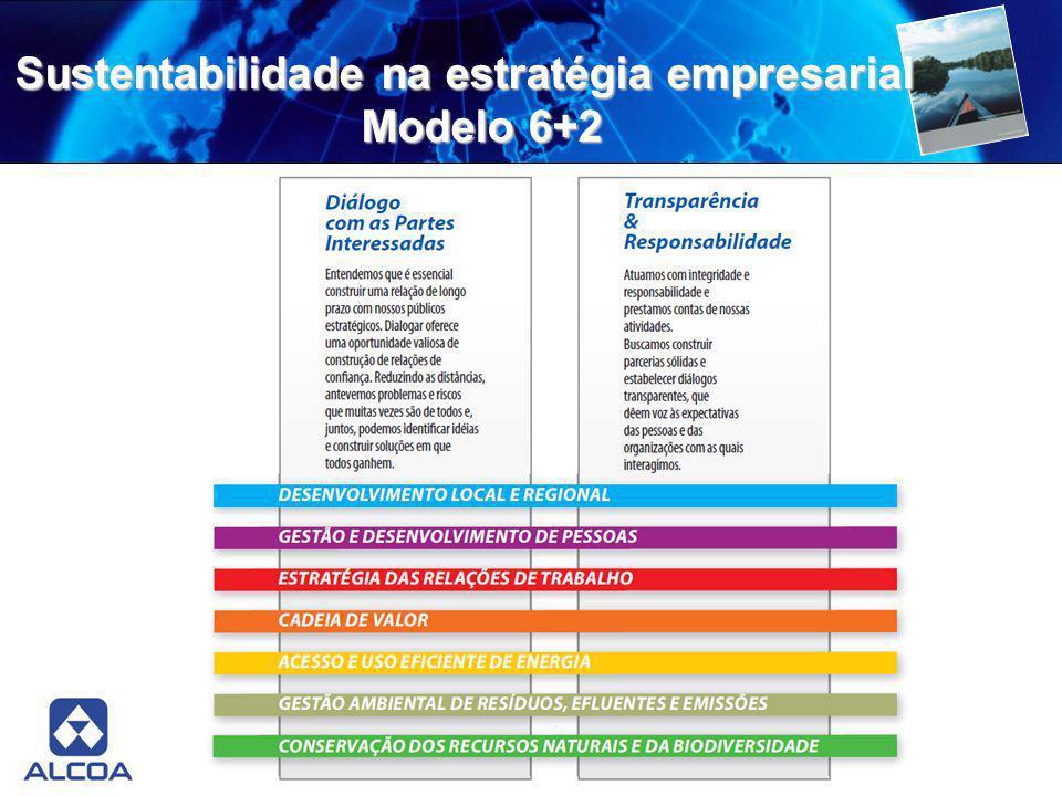 Sustentabilidade na estratégia empresarial Modelo 6+2