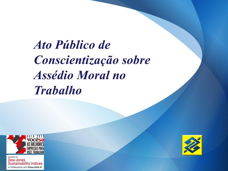 Ato Público de Conscientização sobre Assédio Moral no Trabalho
