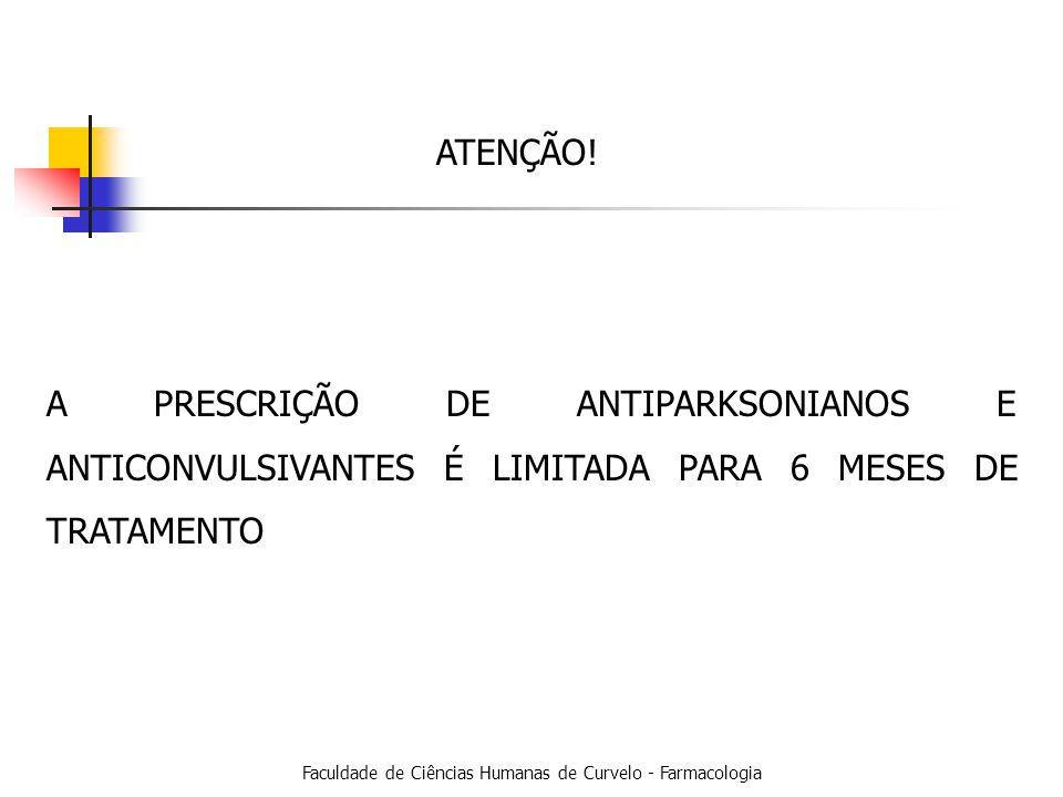 Faculdade de Ciências Humanas de Curvelo - Farmacologia ATENÇÃO.