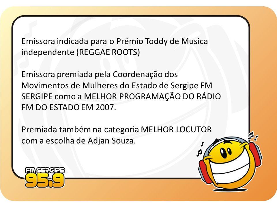 SEGUNDA À SEXTA 02:00 às 04:00 - Show da Madrugada 04:00 às 05:00 - Forrozão 95 05:00 às 09:00 - Show da Manhã 09:00 às 12:00 - Linha Direta 12:00 às 13:00 - As 10 Mais 13:00 às 17:00 - Boa Tarde Sergipe 17:00 às 18:00 - A Hora do Mução 18:00 às 19:00 - As 10 Mais 2ª Edição 19:00 às 20:00 - A Voz do Brasil 20:00 às 22:00 - Esculacho* 20:00 às 02:00 - Toca-Tudo 95** 22:00 às 02:00 - Good Times* * Estes programas serão exibidos de Segunda à Quinta ** Este programa será exibido somente às Sextas-feiras