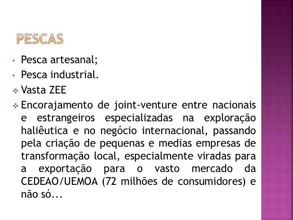Pesca artesanal; Pesca industrial.