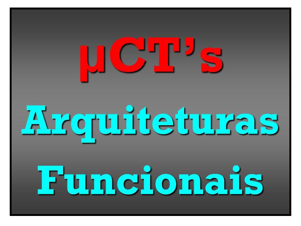 μ CTs ArquiteturasFuncionais