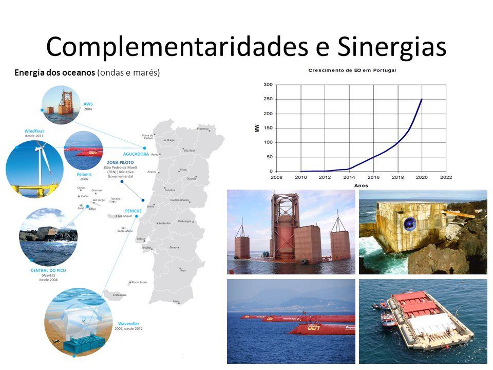 Complementaridades e Sinergias Energia dos oceanos (ondas e marés)