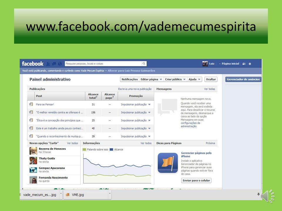 www.facebook.com/vademecumespirita