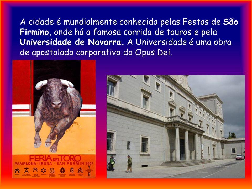 Pamplona é um município da Espanha na província e comunidade autónoma de Navarra, de área 25,25 km² com população de 191.865 habitantes (2004) e densi