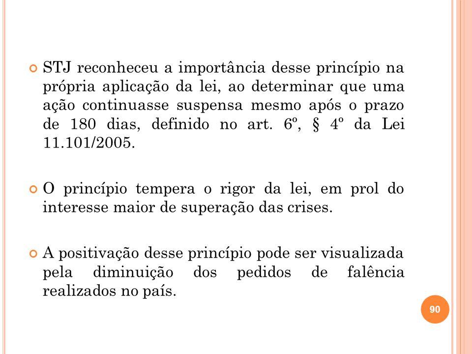 STJ reconheceu a importância desse princípio na própria aplicação da lei, ao determinar que uma ação continuasse suspensa mesmo após o prazo de 180 di