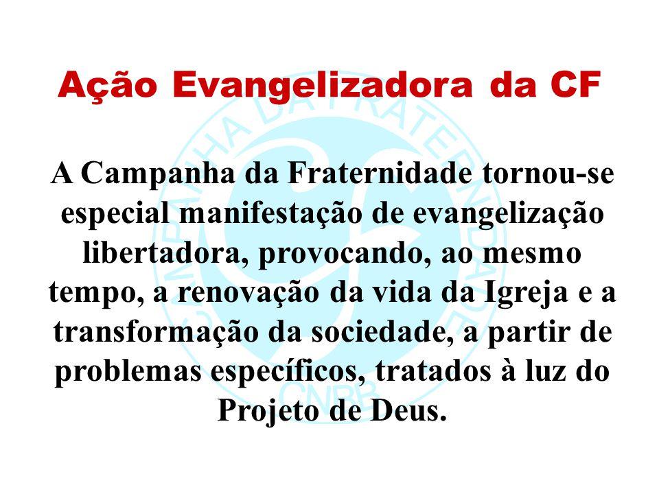 2006 CRONOGRAMA DA CF Abril a junho 2006: avaliação da CF-2006 nos níveis paroquial (de 24 de abril a 14 de maio), diocesano (de 15 a 28 maio), regional (29 de maio a 11 de junho).