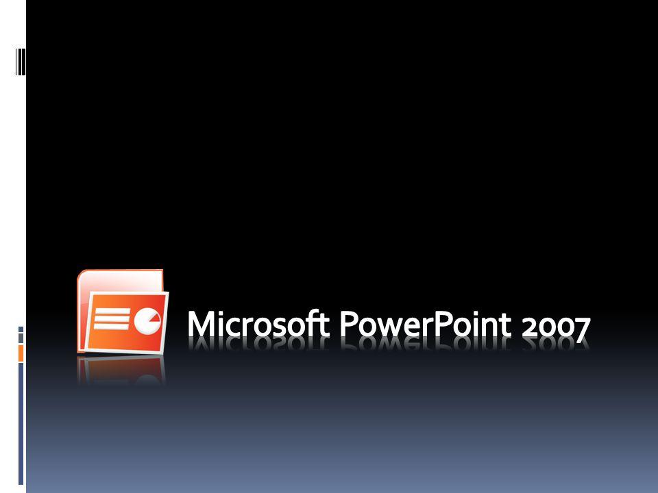 O que é o Microsoft PowerPoint O que podemos fazer com o PowerPoint 2007 Etapas na elaboração de uma apresentação Objectivos de uma apresentação Regras para elaborar a apresentação Normas para uma composição equilibrada do diapositivo.
