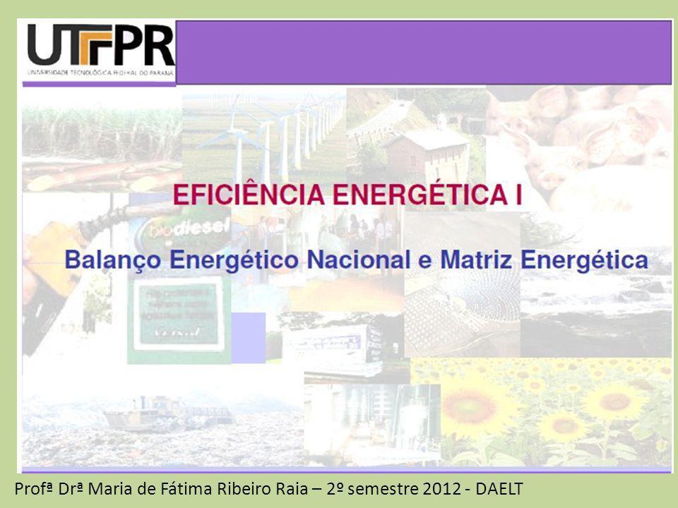 Matriz Energética uma representação quantitativa da oferta de energia (no BEN) quantidade de recursos energéticos oferecidos por um país ou por uma região.