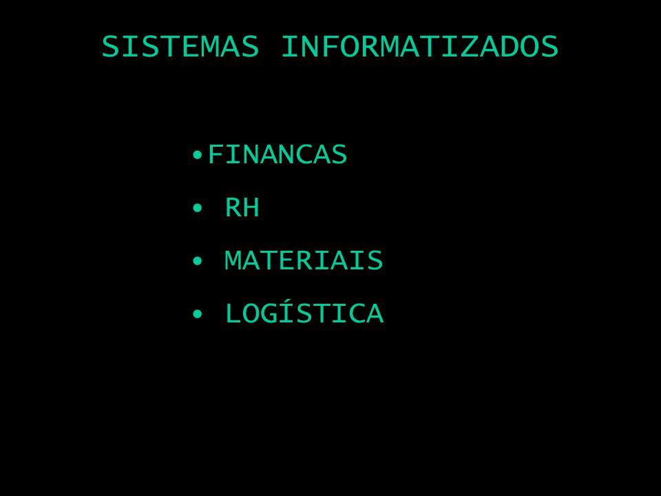 SISTEMAS INFORMATIZADOS FINANCAS RH MATERIAIS LOGÍSTICA