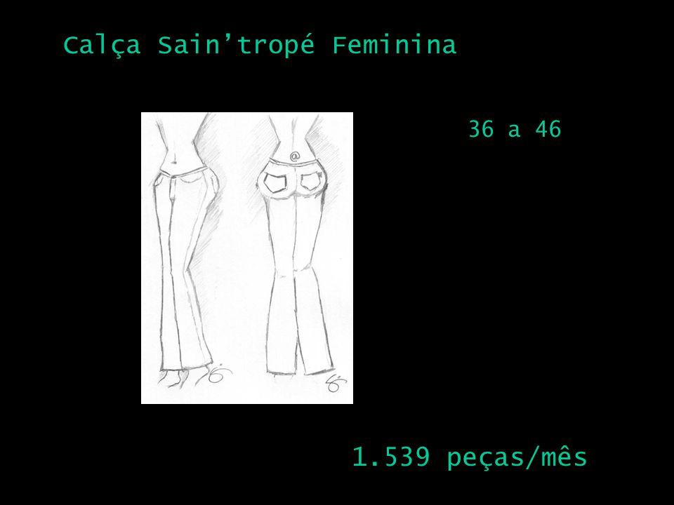 Calça Saintropé Feminina 2 1.539 peças/mês 36 a 46