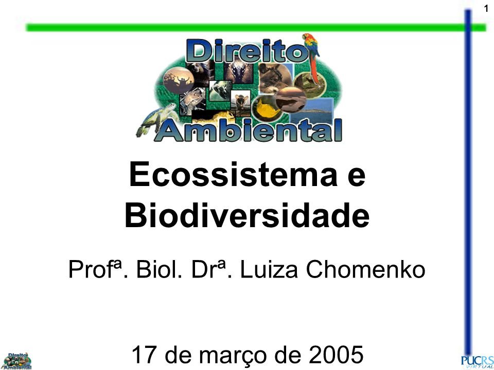2 A INTERFACE DOS RECURSOS HIDRICOS COM A CONSERVAÇÃO DA BIODIVERSIDADE