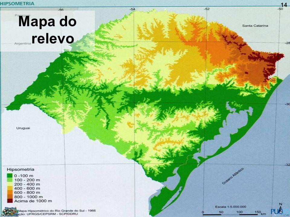 14 Mapa do relevo